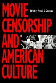 Cover of: MOVIE CENSORSHIP | COUVARES FG