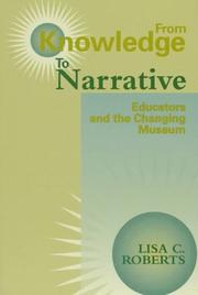 Cover of: From knowledge to narrative