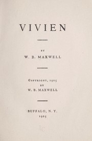 Cover of: Vivien