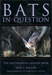 Cover of: BATS IN QUESTION