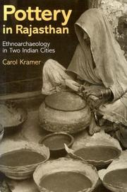 Cover of: Pottery in Rajasthan