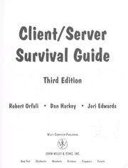Cover of: Client/server survival guide: with OS/2