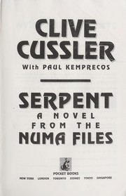 Cover of: Serpent : a novel from the NUMA Files |