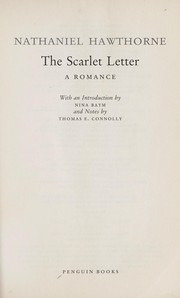 Cover of: The Scarlet Letter | Nathaniel Hawthorne