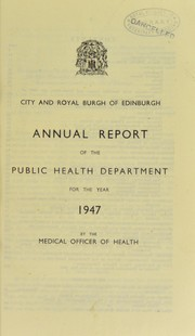 Cover of: [Report 1947]