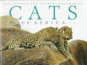 Cover of: CATS OF AFRICA