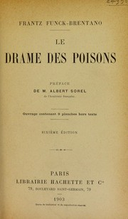 Cover of: Le drame des poisons