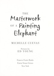 Cover of: The masterwork of a painting elephant