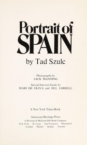 Cover of: Portrait of Spain