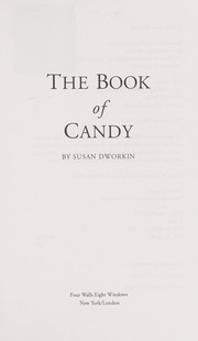 Cover of: The book of candy