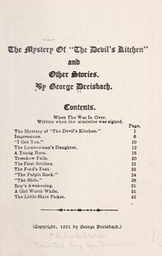 "Cover of: The mystery of ""the devil's kitchen"""