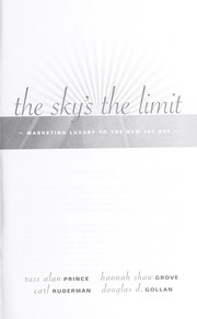 Cover of: The sky's the limit