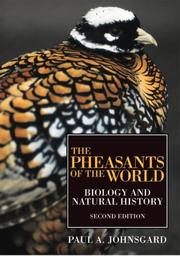 Cover of: PHEASANTS OF WORLD
