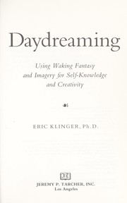 Cover of: Daydreaming | Eric Klinger