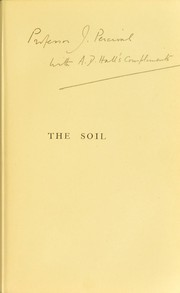 Cover of: The soil