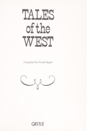 Cover of: Tales of the West | Frank Oppel