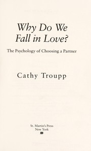 Why do we fall in love?