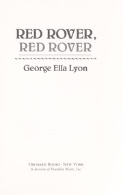 Cover of: Red rover, red rover