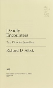 Cover of: Deadly encounters