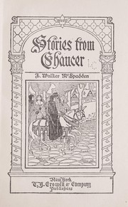 Cover of: Stories from Chaucer