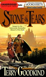 Cover of: Stone of Tears (Sword of Truth, Book 2)
