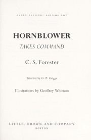 Cover of: Hornblower takes command