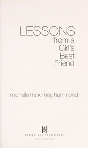 Cover of: Lessons from a girl's best friend