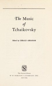 Cover of: The music of Tchaikovsky