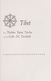 Cover of: Tibet