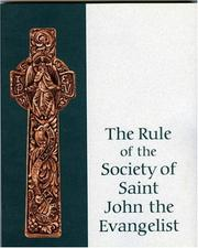 Cover of: Rule of the SSJE