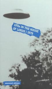 Ufos in the House of Lords 1979 (Uncovered Editions)