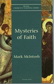 Cover of: Mysteries of Faith (The New Church's Teaching Series, V. 8)