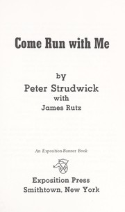 Cover of: Come Run With Me