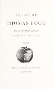 Poems of Thomas Hood