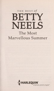 The most marvelous summer