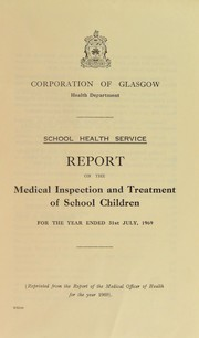 Cover of: [Report 1969] | Glasgow (Scotland)