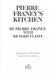Cover of: Pierre Franey's kitchen