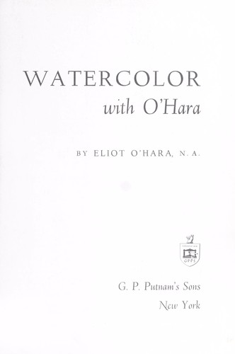 Watercolor with O'Hara by
