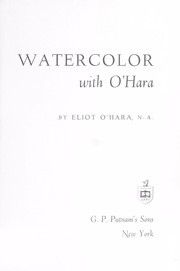 Cover of: Watercolor with O'Hara |