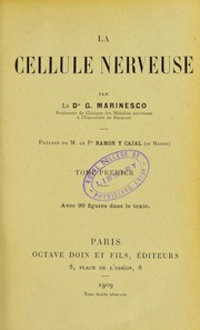 Cover of: La cellule nerveuse