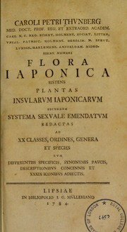 Cover of: Flora Japonica