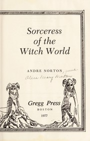 Cover of: Sorceress of the Witch World | Andre Norton