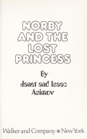 Cover of: Norby and the lost princess