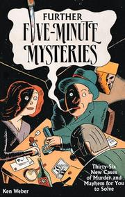 Cover of: Further five-minute mysteries