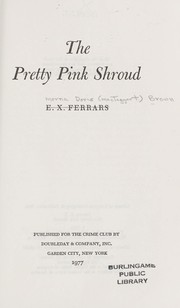 Cover of: The pretty pink shroud
