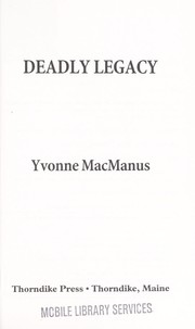 Cover of: Deadly legacy