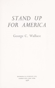 Cover of: Stand up for America