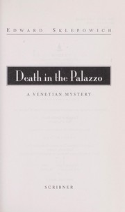 Cover of: Death in the palazzo