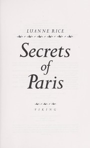 Cover of: Secrets of Paris