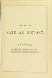 Cover of: The museum of natural history